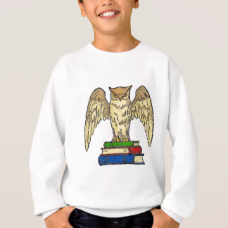 Owl and Books Sweatshirt