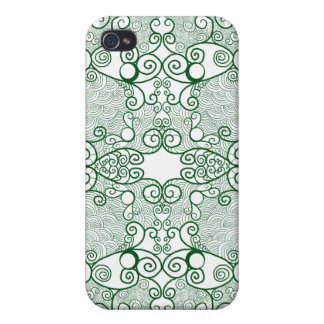 Owl and Firefly Lace Case For The iPhone 4