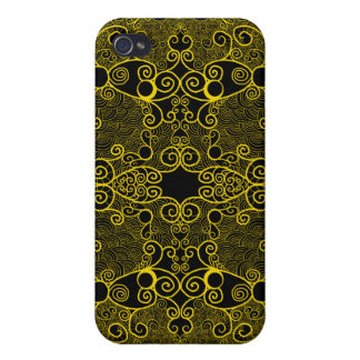 Owl and Firefly Lace iPhone 4/4S Case