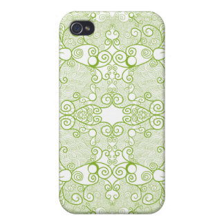 Owl and Firefly Lace iPhone 4/4S Cases