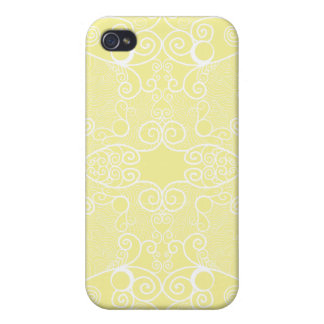 Owl and Firefly Lace iPhone 4 Cases