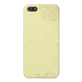 Owl and Firefly Lace iPhone 5 Case