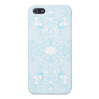 Owl and Firefly Lace iPhone 5 Cover