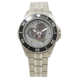 Owl and Heart Watch