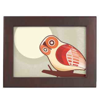Owl And Moonlight Keepsake Box