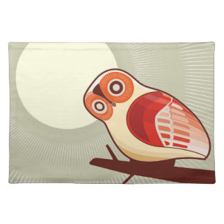 Owl And Moonlight Placemat
