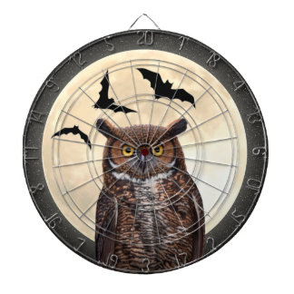 Owl and The Full Moon Dart Boards