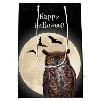 Owl and The Full Moon Medium Gift Bag