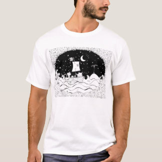 Owl and the pussy cat  t-shirt