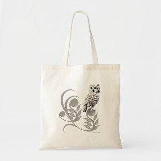 Owl Art Budget Tote Budget Tote Bag