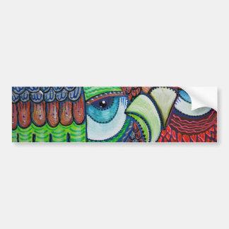 Owl Art Bumper Stickers