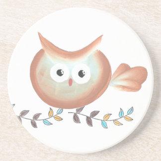 Owl Art Merchandise Coasters