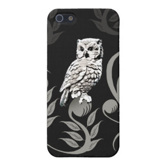 Owl Art Savvy iPhone5 Case iPhone 5 Covers