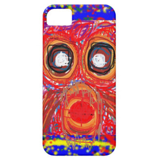 OWL Artistic Bird Prey Colorful Red GIFTS Greeting iPhone 5 Cover