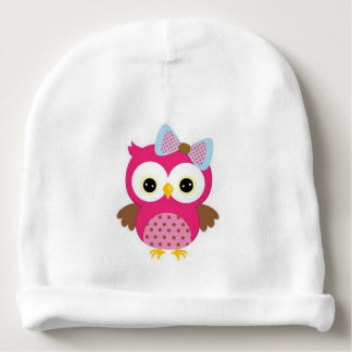 Owl/Baby's Rabbit Skin Cotton Rib Infant Hat Baby Beanie