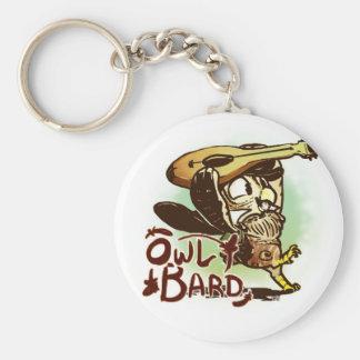 Owl Bard Keychain