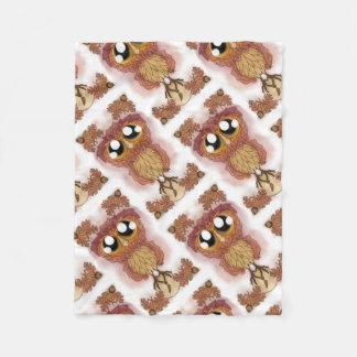 Owl Be-leaf In Hoo-Hoo (October 2017) Fleece Blanket