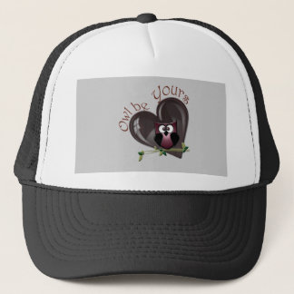 Owl be Yours, Valentine's Day Gifts Trucker Hat