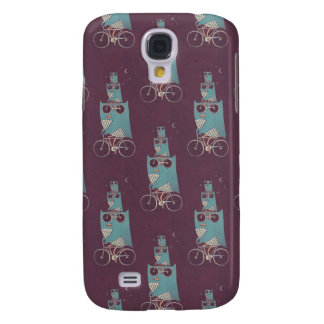 Owl Bicycle Galaxy S4 Covers