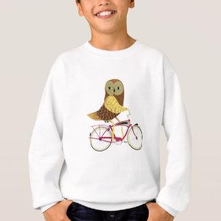 Owl Bicycle Sweatshirt