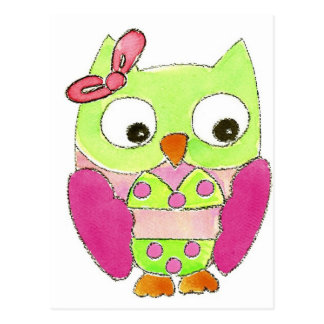 Owl Bikini Postcards