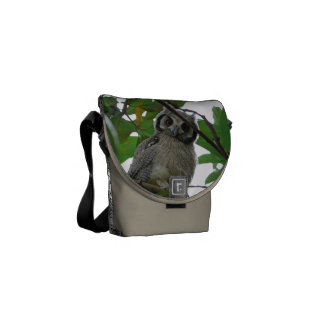 Owl Bird Animal Tree Green Destiny's Destiny Commuter Bag