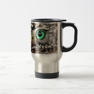 Owl Bird Eyes Tree nature wise Mugs