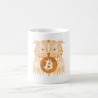 Owl Bitcoin Mug