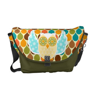Owl Boheme White Owl Commuter Bag