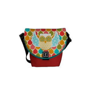 Owl Boheme White Owl Messenger Bag