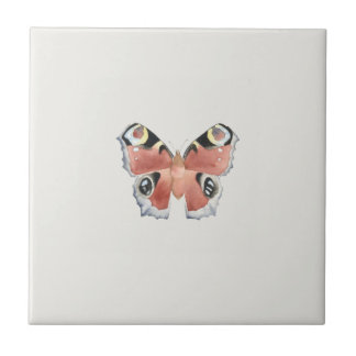 Owl Butterfly Tile