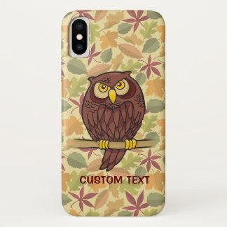 Owl Cartoon iPhone X Case