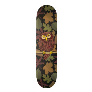 Owl Cartoon Skateboard Decks