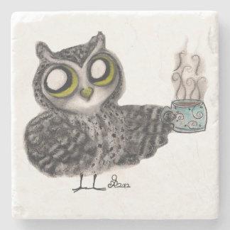 owl coffee stone coaster