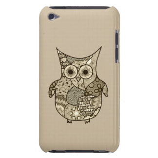 Owl Collage Barely There iPod Cover