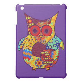 Owl Collage Cover For The iPad Mini
