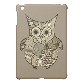 Owl Collage iPad Mini Cases