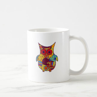 Owl Collage Mugs