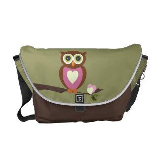 Owl Commuter Bag