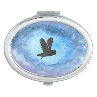 Owl Compact Makeup Mirrors