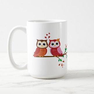 Owl Couple Valentine s Day mug