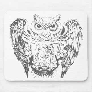 Owl Deity Mouse Pad