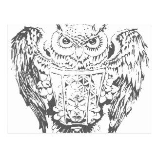 Owl Deity Postcard