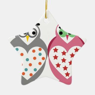 Owl Design Christmas Ornament