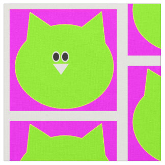 Owl design in pink and green Vector pattern fabric
