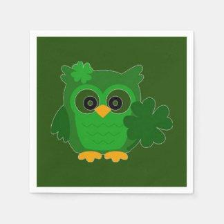 Owl Disposable Napkin