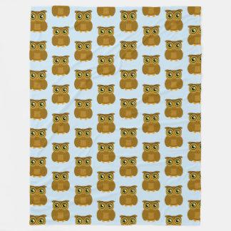 Owl Doodle TP Fleece Blanket