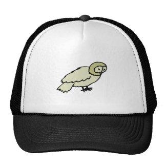 Owl Drawing Mesh Hats