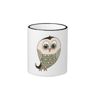Owl Drawing Mugs