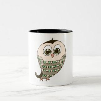 Owl Drawing Coffee Mugs